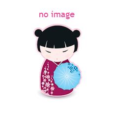 Giacca kimono bianco blu