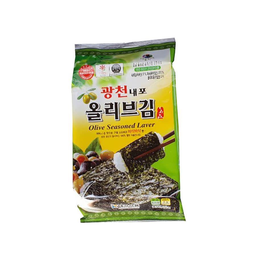 Snack alghe all'olio d'oliva