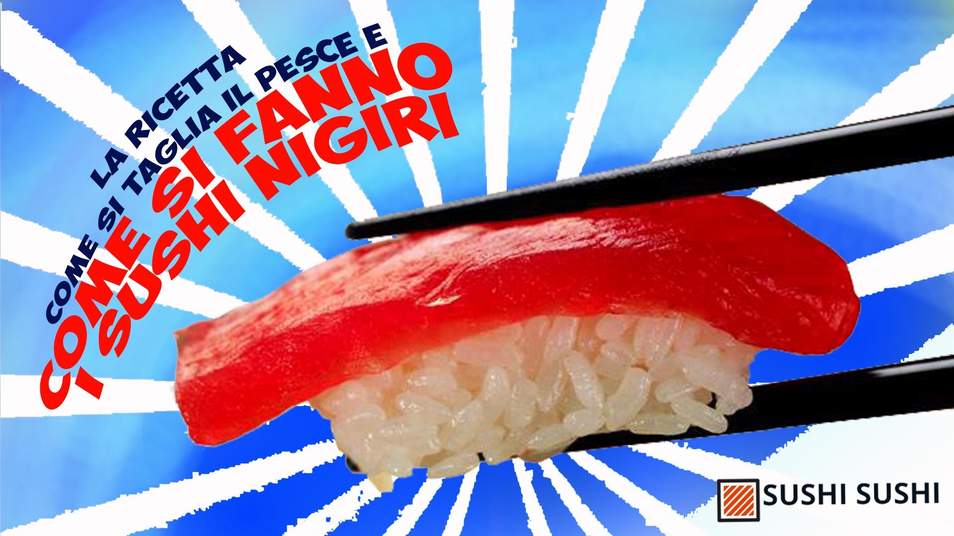 Sushi, come farlo