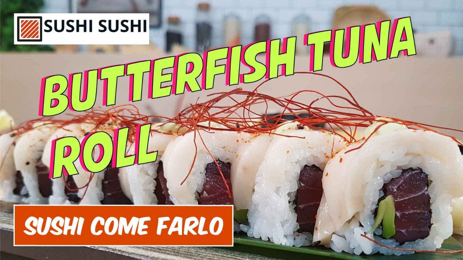 Sushi Video ricetta