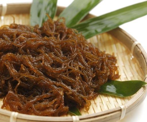 Mozuku spaghetti di alghe